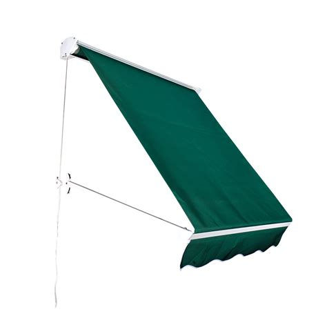 retractable umbrella awning outsunny drop retractable window awning canopy sun shade