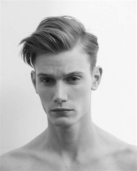 hair side part thin ugly cut men s graduated cut with side part and long interior