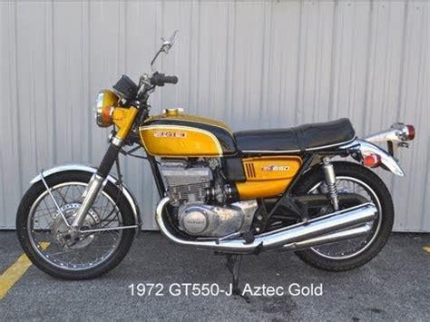 1972 Suzuki Gt550 Suzuki Gt550 History 1972 1977
