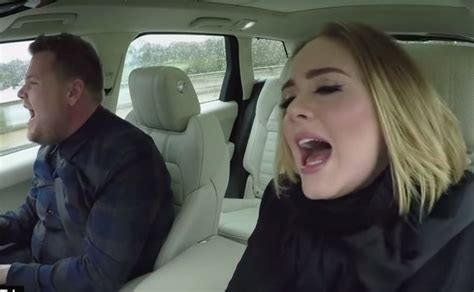 james corden and adele relationship teaser adele s carpool karaoke with james corden watch