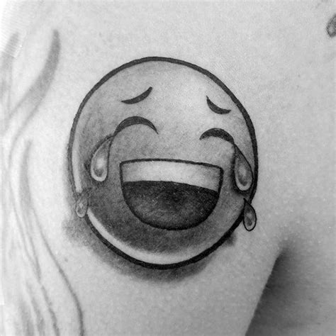 tattoo ink emoji 30 emoji tattoo designs for men emoticon ink ideas