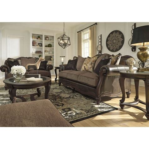 vintage living room set winnsboro durablend vintage living room set signature