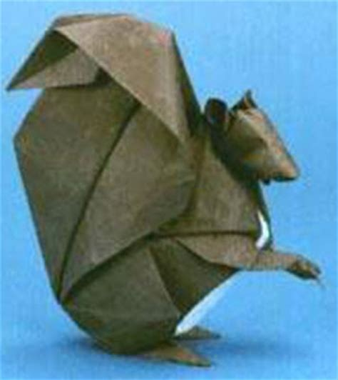 3d Origami Squirrel - origami squirrel 3d make origami easy for