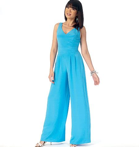 jumpsuit sewing pattern 2015 mccall s 7167 misses romper and jumpsuits