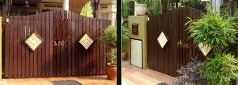 inspirasi alam transformasi pintu pagar