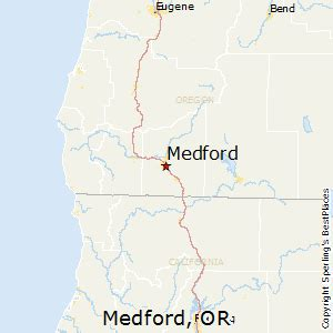 map of oregon medford best places to live in medford oregon