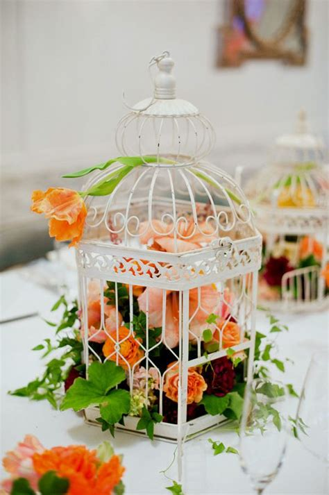 22 Decorative Bird Cages Repurposed And Improved Birdcage Centerpieces Weddings