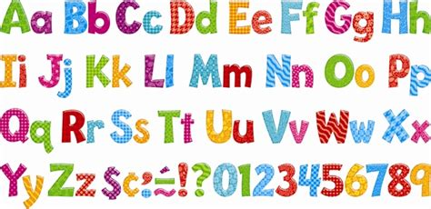 printable letters for bulletin board 10 free colorful fonts for teachers images free outline
