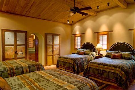 southwestern bedroom rustic hacienda style texas ranch southwestern bedroom