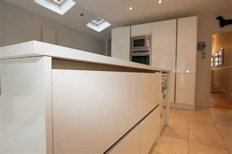 modern handleless kitchens handleless kitchen by lwk kitchens modern