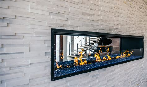 linear gas fireplaces custom gas linear fireplace a customer s journey