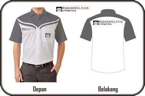 desain kemeja bengkel sribu office uniform clothing design desain kemeja kerja