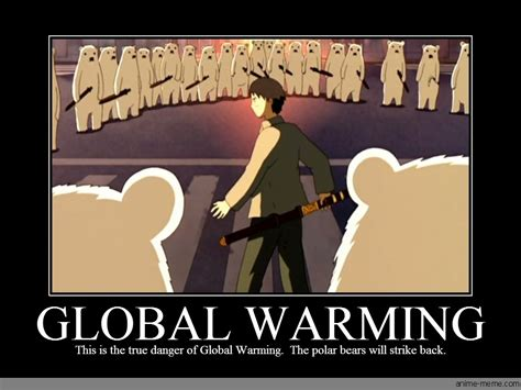 Global Warming Meme - global warming anime meme com