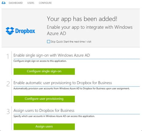 dropbox quick start implement an azure active directory microsoft press store