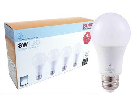 ceiling fan replacement led light bulb daylight 750 lumen
