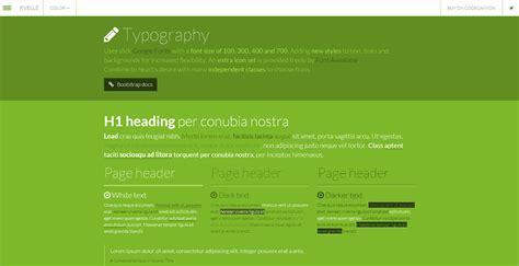 typography bootstrap kvelle multipurpose bootstrap skin by rakinjakk codecanyon