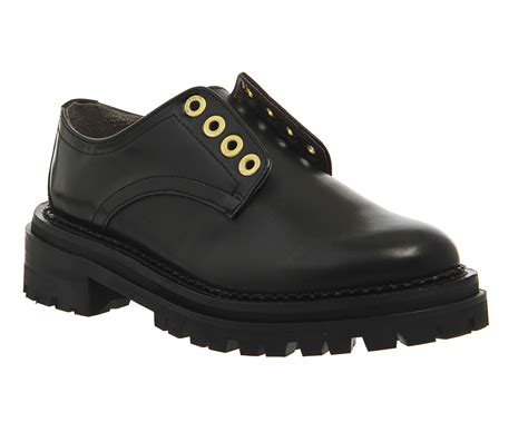 laceless sneakers womens womens h by hudson avebury laceless shoes black leather