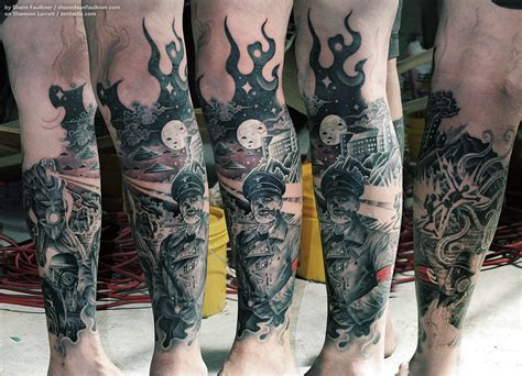1 2 sleeve tattoo 1 2 sleeve apocalypse images for tatouage