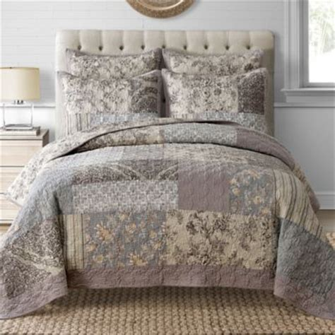 davis quilt in taupe bed bath beyond