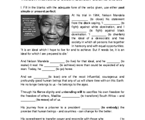 nelson mandela biography in simple english nelson mandela s death barack obama tribute