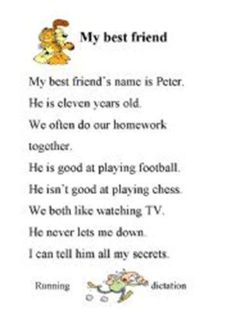 My Best Friend Essay For Children by Teaching Worksheets Friendship
