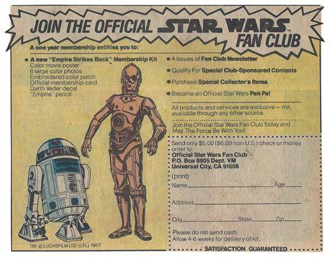 official star wars fan club join the official star wars fan club