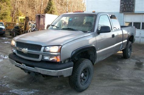 books on how cars work 2003 chevrolet silverado 3500 regenerative braking purchase used 2003 chevy hd 2500 extended cab 4 door 4 wheel drive a real work horse in vt