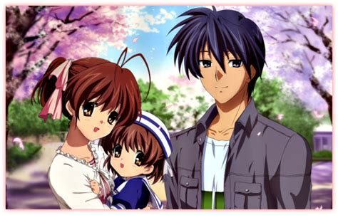 film anime clannad amv of the day left us falling clannad clannad after