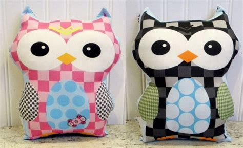 Handmade Owls - gorgeous handmade owl cushions from petunias