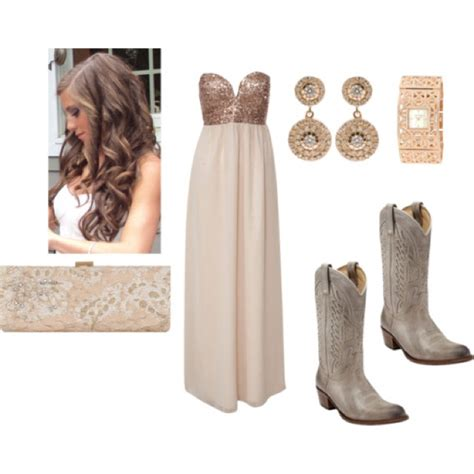 short white dresses on pinterest cowboy boot outfits cowboy boots with prom dress too cute a little country