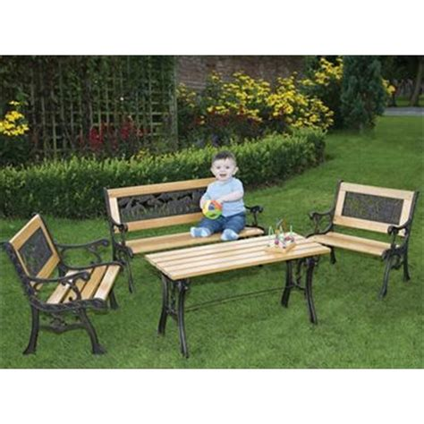 children s benches outdoor childrens noah s ark furniture set the garden factory