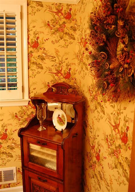 living room  powder room  english country style
