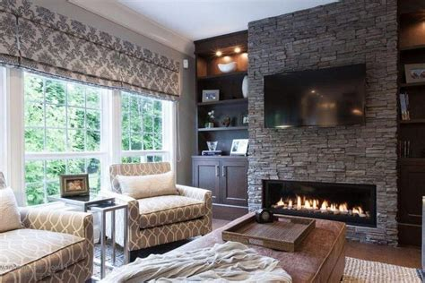 20 amazing tv above fireplace design ideas decoholic 33 best linear fireplace images on pinterest linear