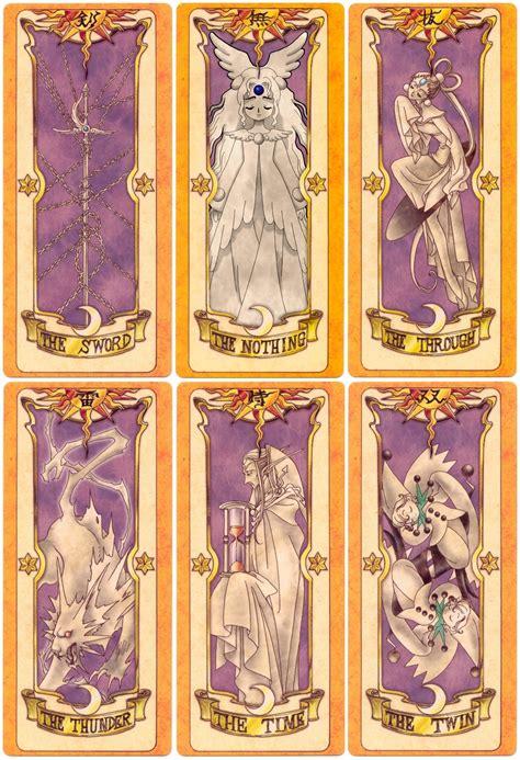 Pin Cardcaptor Clow Card cartas de card captors da hora concept arts cardcaptor by