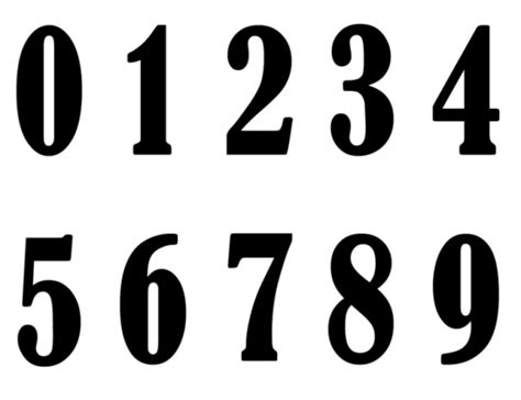 printable number cards 0 to 9 best photos of printable numbers 1 9 printable numbers 0