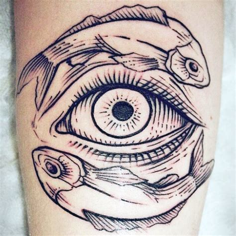 all seeing eye tattoo design 60 yin tang tattoos for contrasting designs