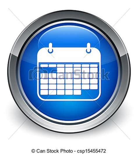 Azul Calendario Stock De Ilustraciones De Azul Calendario Brillante