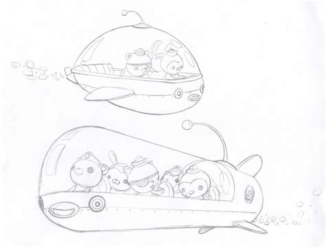 Octonauts Gup C Coloring Pages