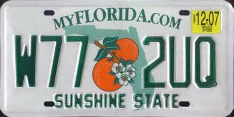 Vanity Plates Florida by Autokennzeichen Usa