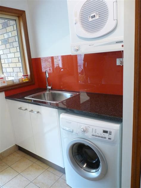 laundry in kitchen ideas laundry designs gallery quality brisbane cabinetmaker