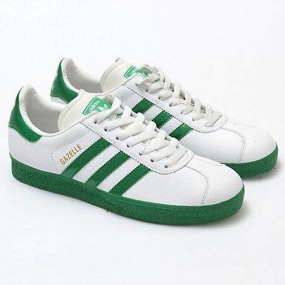 Adidas Gazelle 2 0 Green White adidas gazelle 2 originals leather shoes new 561145 white