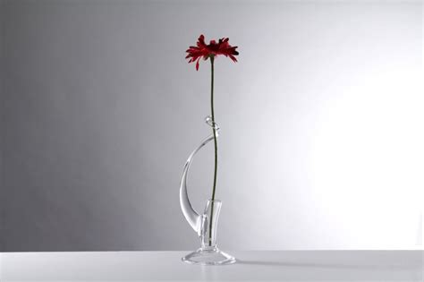 Single Stem Vase by Single Stem Vase Teign Valley Glass