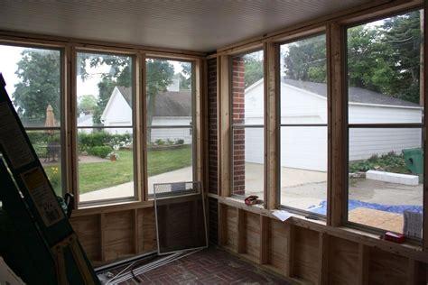 Enclosed Patio Windows Decorating Enclosed Porch Windows