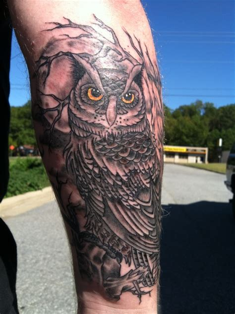 tattoo owl man 40 beautiful owl tattoos desiznworld