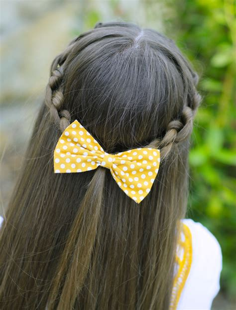 cute girl hairstyles knotted braid how to create a knotted braid tieback braid hairstyles
