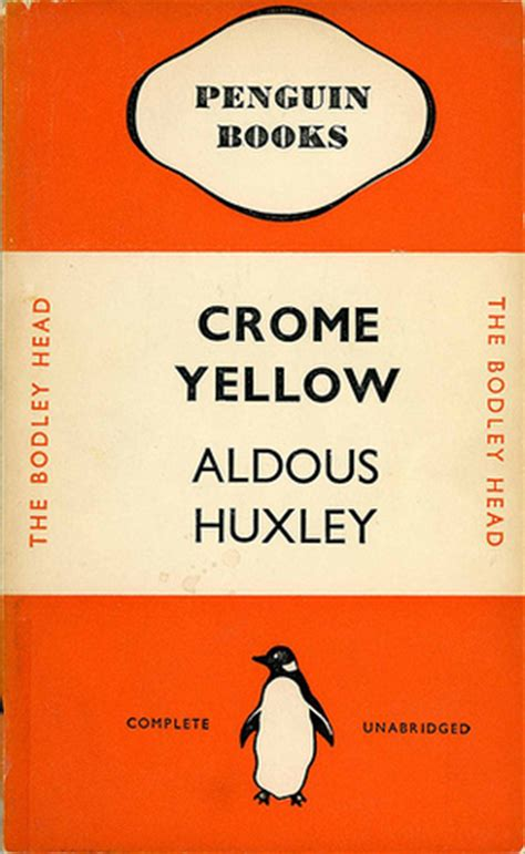chrome yellow huxley crome yellow by aldous huxley reviews discussion