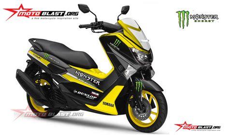 Sticker Striping Motor Stiker Yamaha Nmax Green Thunder Spec modif striping yamaha nmax racing motoblast