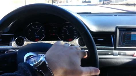 how do cars engines work 2007 audi s8 instrument cluster 2007 audi s8 with v10 5 2 liter lamborghini engine youtube