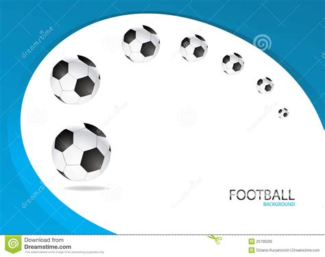 football background template vector design royalty free