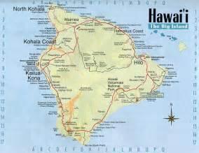 map of hawaii big island